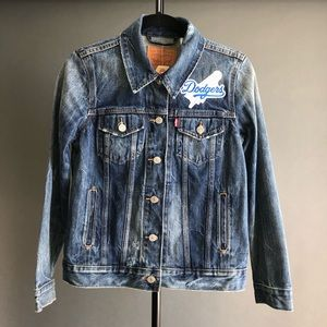 Levi's Denim Dodgers Jacket NWT